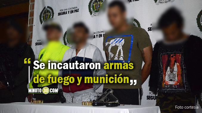 Capturados presuntos integrantes de la banda El Bolo o El Bolo Bajo