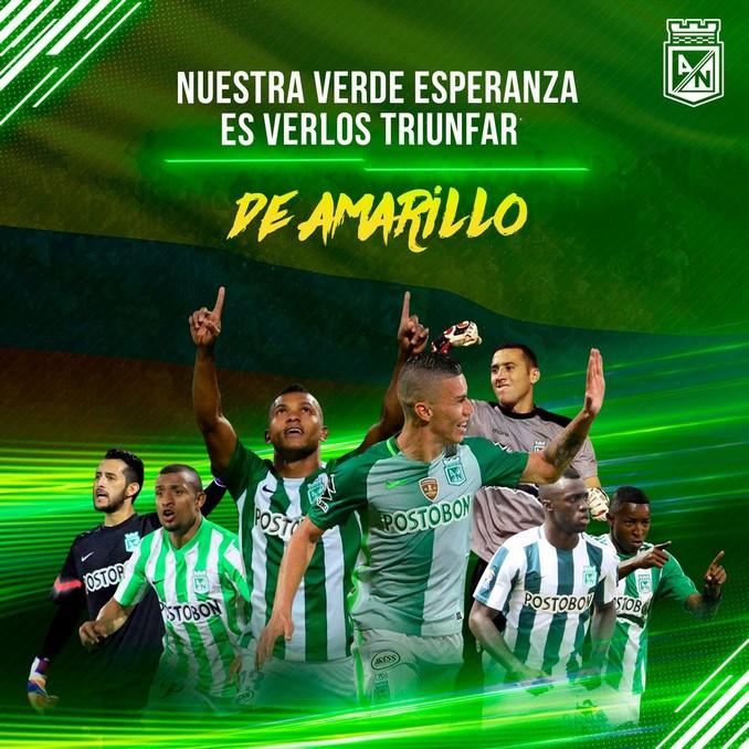 Jugadores de Nacicional de est%C3%A1n con la Seleccion Colombia Copiar