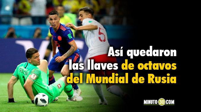 Listo el rival de Colombia en octavos de final