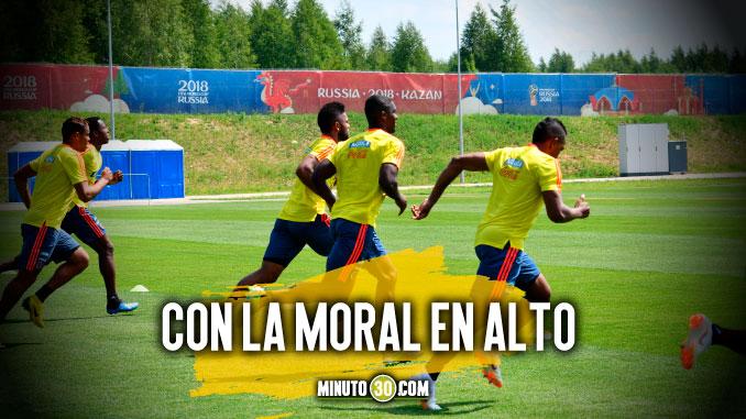 Motivada regreso a entrenamientos la Seleccion Colombia