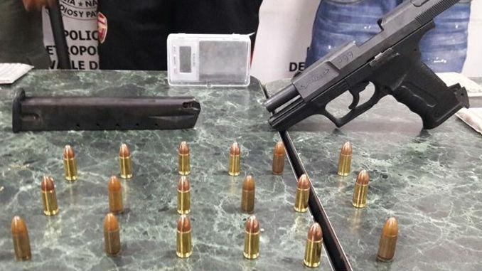 Pistola arma de Fuego