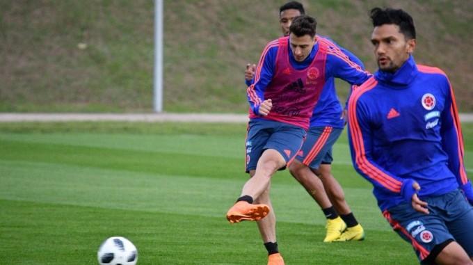 Seleccion Colombia entrenamiento