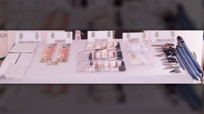 Celulares, armas blancas y estupefacientes, lo que encontraron las autoridades en la cárcel Bellavista