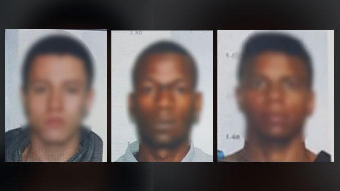Enviaron a la cárcel a los tres presuntos ladrones del banco en La América. Un menor de 10 años fue tomado como rehén