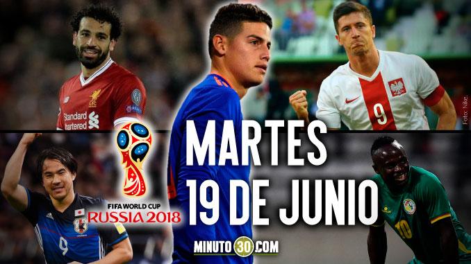 colombia martes 19 de junio