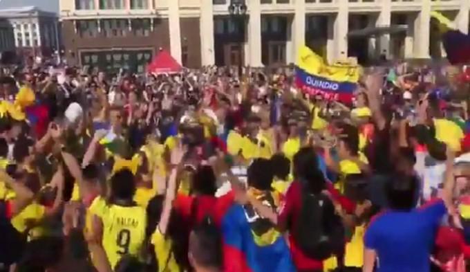colombianos en rusia Copiar