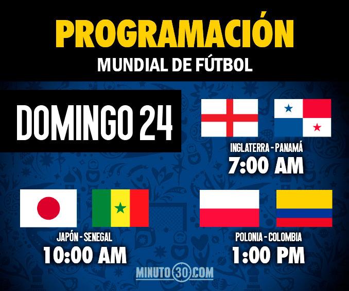 programacion domingo 24