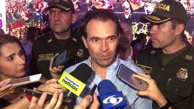 Federico Guti%C3%A9rrez declar%C3%B3 tras la captura de los asesinos de los conductores de bus en Medell%C3%ADn