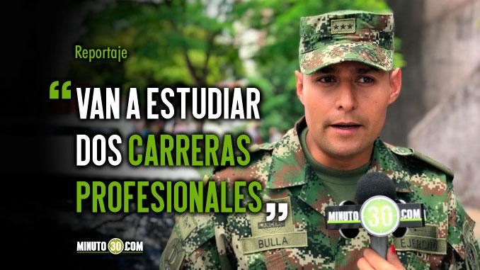 Abierta convocatoria para el grado de Subteniente del Ejercito Nacional de Colombia