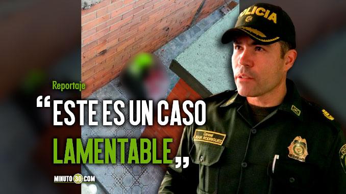 Autoridades investigan muerte de Patrullero de la Policia en la Estacion la Candelaria