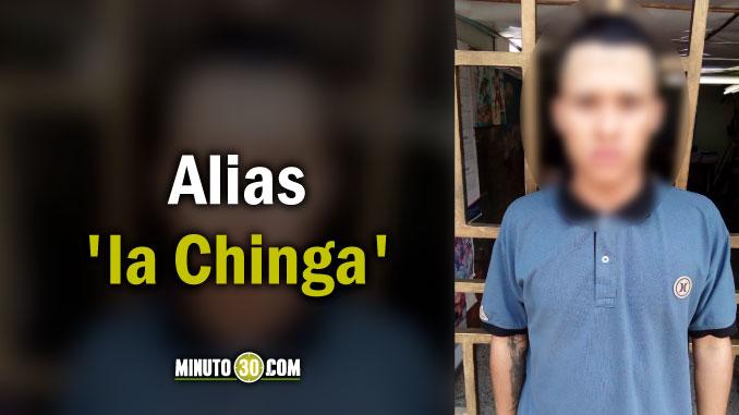 Bayron Stiven Martínez Valencia, alias la Chinga