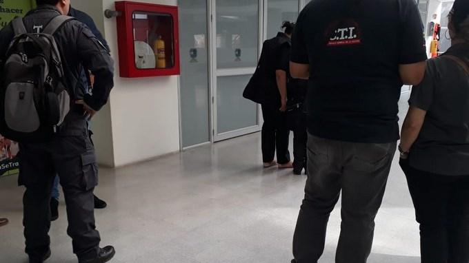 Funcionarios del CTI adelantan un allanamiento en varias oficinas de la Alcaldía de Barbosa