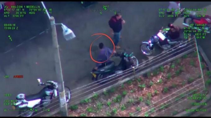 Captura del Veneco expendedor de droga en el centro de Medellin 2