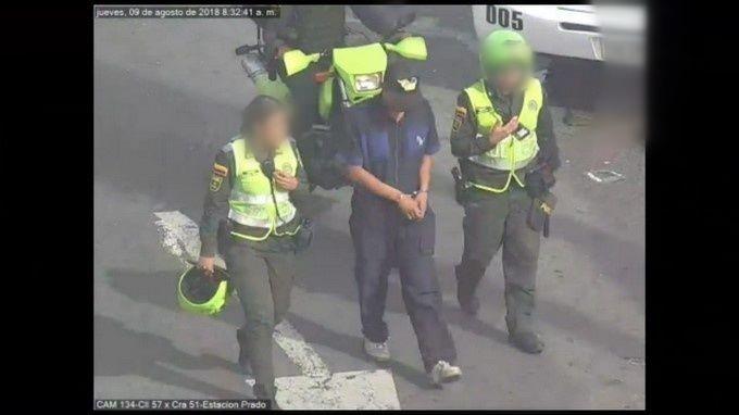 Captura del Veneco expendedor de droga en el centro de Medellin 3