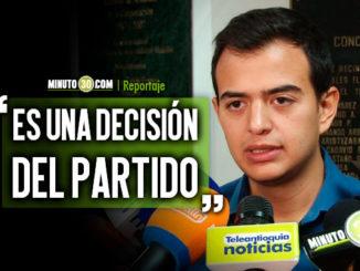 Denuncias sobre amenazas hacia el Centro Democratico se realizaran en Bogota