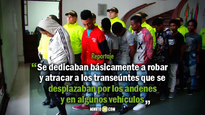 Hurtos realizados por Los intocables quedaron grabados en video
