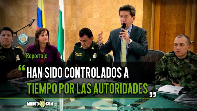 Intentos de alteracion del orden publico en Segovia no han prosperado gracias al actuar de las autoridades