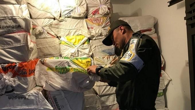 Decomisaron en Itagüí 63 mil cajetillas de cigarrillos de contrabando