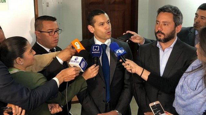 El presidente del Concejo de Bogotá, Daniel Palacios