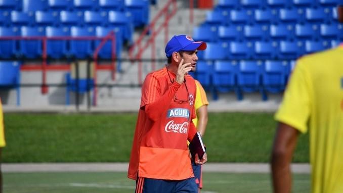 Arturo Resyes entrenador Seleccion Colombia