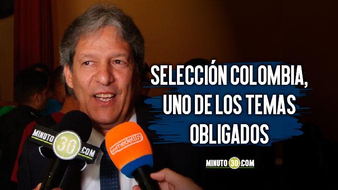 Entrenadores colombianos se reunieron para hablar de futbol