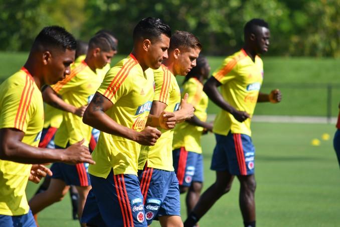 Entrenamiento Seleccion Colombia de cara a amistoso 11