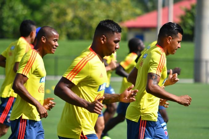 Entrenamiento Seleccion Colombia de cara a amistoso 12