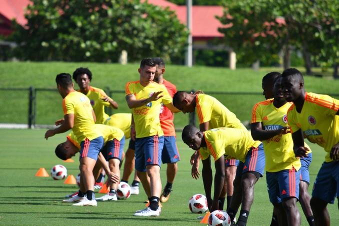 Entrenamiento Seleccion Colombia de cara a amistoso 14