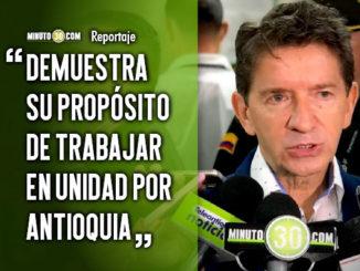 Gobernador de Antioquia se reunio con la bancada de congresistas antioquenos