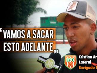 Jugadores de Envigado reciben de buena forma la llegada de Eduardo Lara