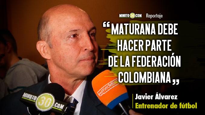 Ojala se abran mas las opciones para el entrenador colombiano Javier Alvarez