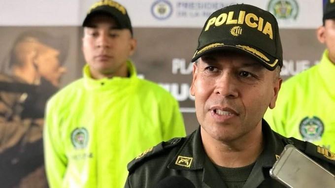 coronel Luis Eduardo Leon Comandante Operativo Meval