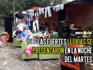 Adelantan censo para establecer cifra de afectados tras fuertes lluvias en Carepa
