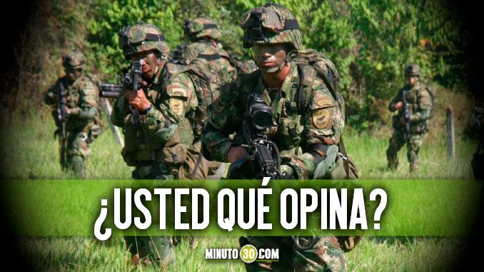 Cree usted que las Fuerzas Armadas Colombianas est%C3%A1n en capacidad de derrotar militarmente a la guerrilla o no