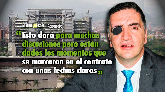 EPM no deberia ser evasivo con las clausulas de apremio Mauricio Tobon