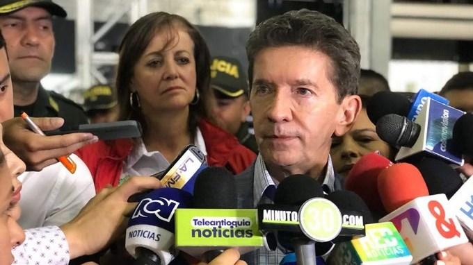 Luis Perez Gutierrez Gobernador de Antioquia