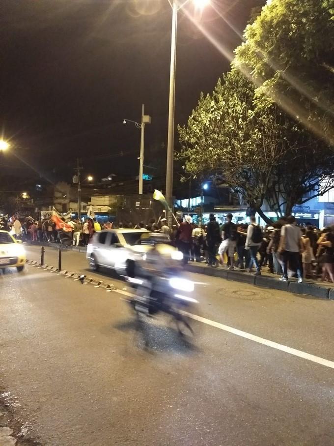 Manifestacion ciudadana en la 80 2