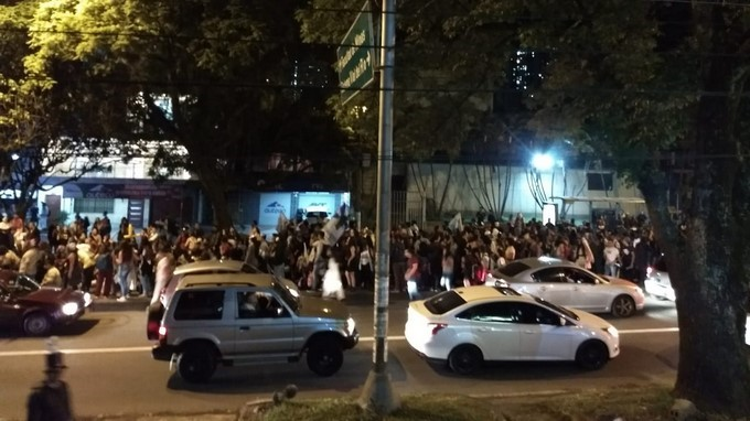 Manifestacion ciudadana en la 80 3