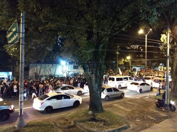 Manifestacion ciudadana en la 80 4