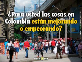 Percepcion general Colombia