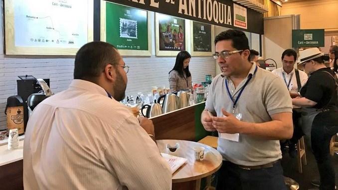 El Café de Antioquia participa en Bogotá en la feria Cafés de Colombia Expo