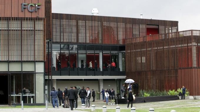 sede deportiva Federacion Colombiana Futbol