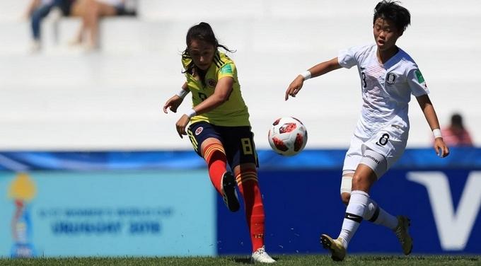Colombia corea femenino sub 17