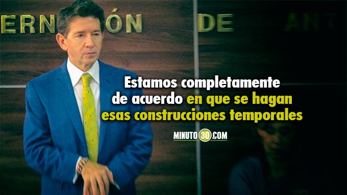 Gobernador de Antioquia apoya propuesta para descongestionar las carceles de Colombia