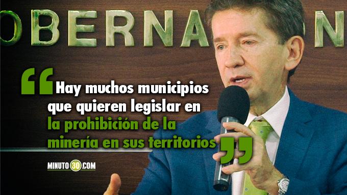 Mineria necesita claridad sobre competencias de uso de subsuelos en los municipios