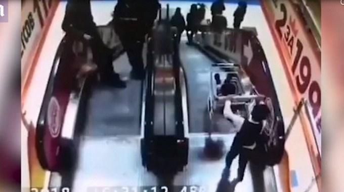 hermano carro escalera