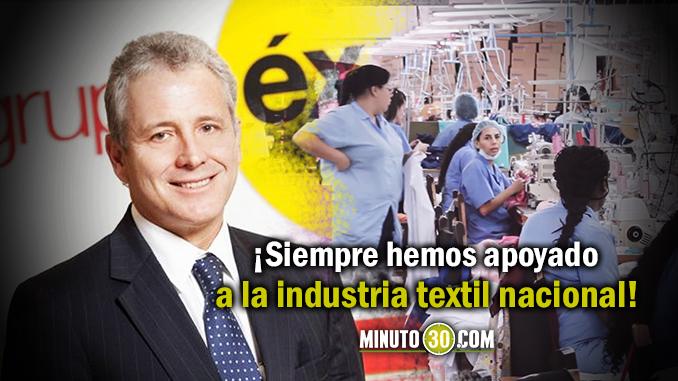 PORTADA Presidente exito textil 6781
