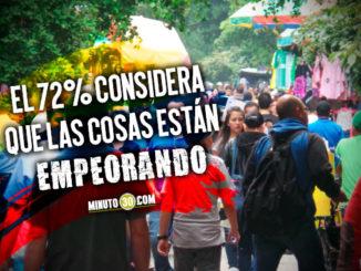 Pocos son los que creen que en Colombia las cosas están mejorando, según Gallup Poll