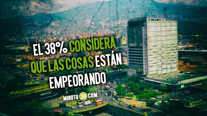 Gallup Poll: En Medellín las cosas siguen empeorando. Así opinaron los encuestados