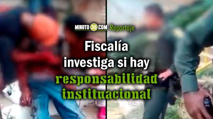 Hay amenazas contra el policia que dio de baja al joven en la Comuna 13